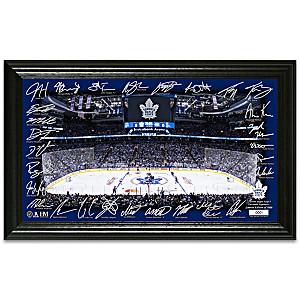 Toronto Maple Leafs® Rink Photo Mint