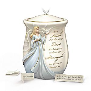 """A Year Of Inspirations"" Porcelain Musical Comfort Jar"