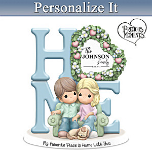 Precious Moments Romantic Personalized Couples Figurine