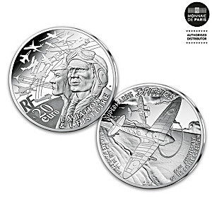 Battle Of Britain 80th Anniversary Fine Silver Piedfort Coin