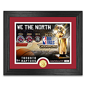 """We The North"" Toronto Raptors Photo Mint"