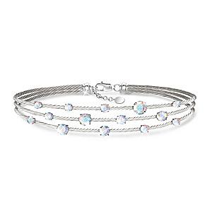 """Starry Night"" Aurora Borealis Swarovski Crystal Bracelet"