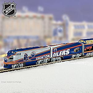 """Edmonton Oilers® Express"" Illuminated Electric Train"