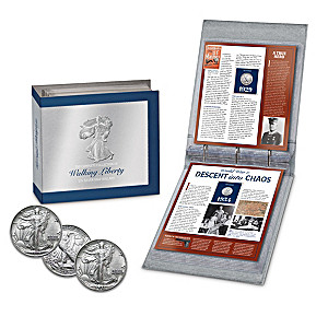 Complete Walking Liberty Silver Half Dollar Coin Collection