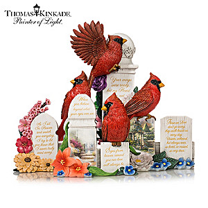 """Thomas Kinkade """"Our Love Is Eternal"""" Figurine Collection"""