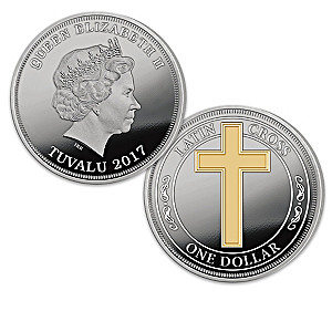 The 2017 Christian Cross Silver-Plated Coin Collection