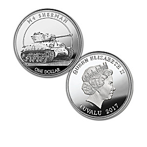 The World's Greatest Tanks Silver Dollar Coin Collection