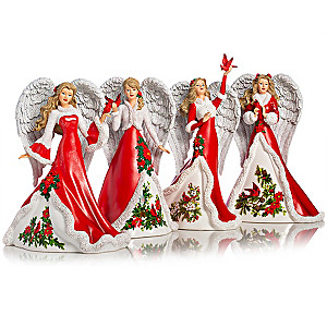 """""""Angels Of Comfort And Joy"""" Figurine Collection"""
