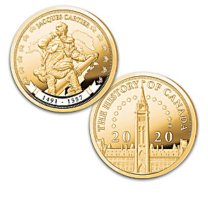The Legacy Of Explorer Jacques Cartier Proof Coin Collection