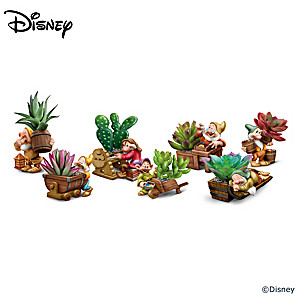 Disney Snow White And The Seven Dwarfs Planter Sculptures