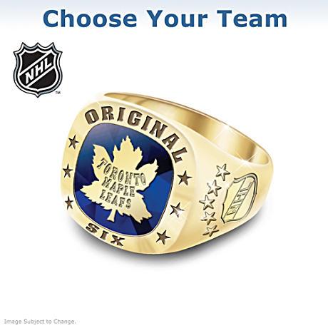 Original Six™ Men s Ring With Vintage Logos 683d12331