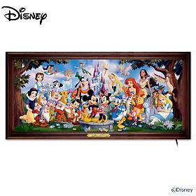The Magic Of Disney Wall Decor