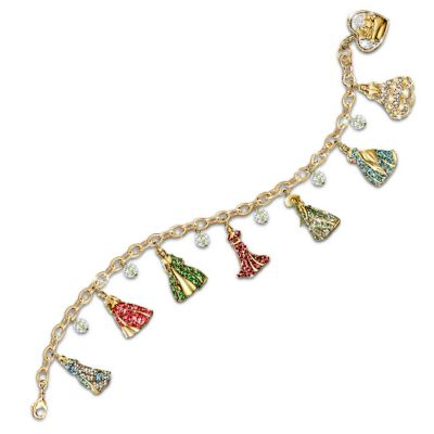 Scarlett's Gone With The Wind Costumes Charm Bracelet by