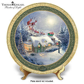 Thomas Kinkade Dash Away All Collector Plate