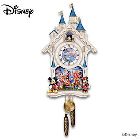 Disney Happiest Of Times Cuckoo Clock