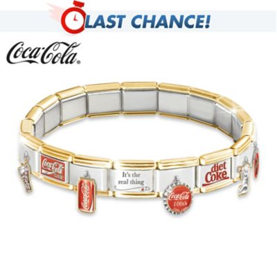 COCA-COLA Ultimate Italian Charm Bracelet