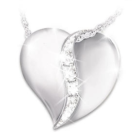 My Precious Daughter Diamond Pendant Necklace