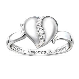 My Precious Daughter Diamond Ring