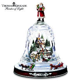 Thomas Kinkade Ring In The Season Table Centerpiece