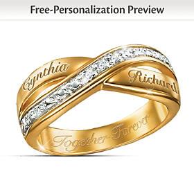 Eternity Personalized Diamond Ring
