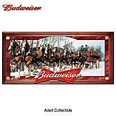 Budweiser Clydesdales Wall Decor