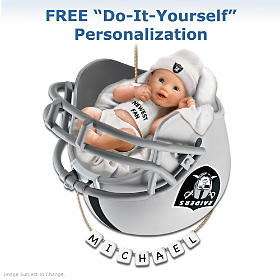 Oakland Raiders Ornament