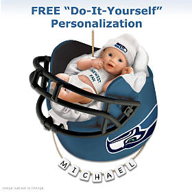 Seattle Seahawks Ornament