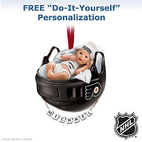 Philadelphia Flyers® Personalized Baby's First Ornament