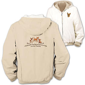 Loyal Companion Chihuahua Women's Jacket