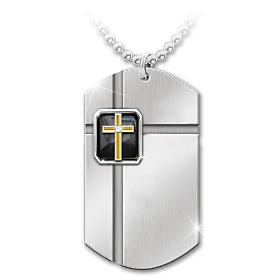 Strength In Faith Pendant Necklace