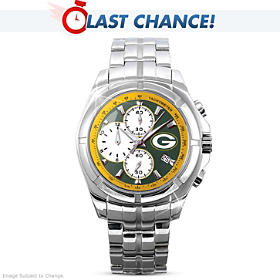 Packers Super Bowl Champions Men's Collector's Watch