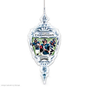 Philadelphia Eagles Super Bowl LII Commemorative Ornament