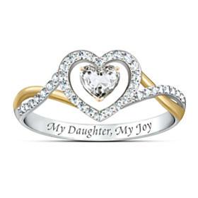 My Daughter, My Joy Ring
