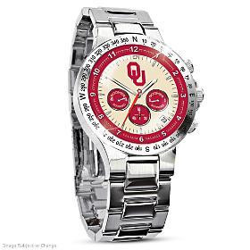Oklahoma Sooners Men's Collector's Watch