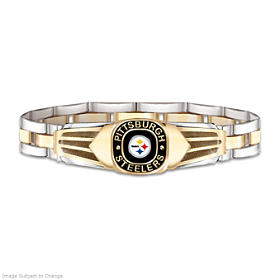 Pittsburgh Steelers Men's Bracelet