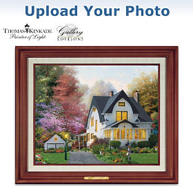 Thomas Kinkade Personalized Canvas Print