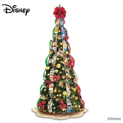ultimate disney wondrous christmas pre lit pull up christmas tree