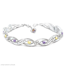 LSU Pride Bracelet