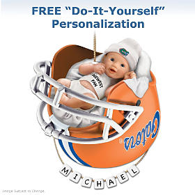 Florida Gators Personalized Baby's First Ornament