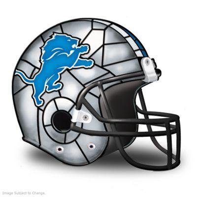 Detroit Lions Football Helmet Accent Lamp by