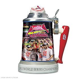 St. Louis Cardinals World Series Champions Stein