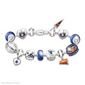 Go Tigers! #1 Fan Charm Bracelet