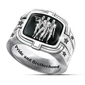 Brotherhood Of Veterans Ring