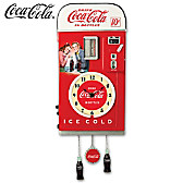 COCA-COLA Time For Refreshment Vending Machine Wall Clock
