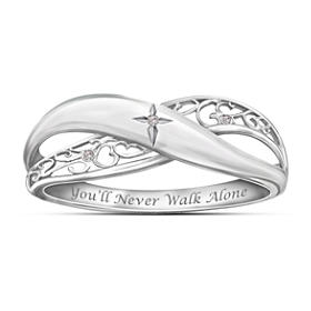 Pure Faith Diamond Ring