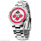 Ohio State Buckeyes Men's Collector's Watch
