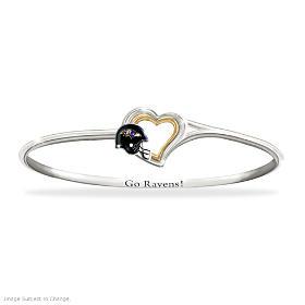 Go Ravens! Bracelet