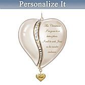 Loving Remembrance Personalized Ornament