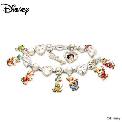Snow White 75th Anniversary Commemorative Bracelet by