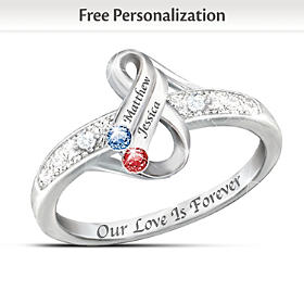 Infinite Love Personalized Ring